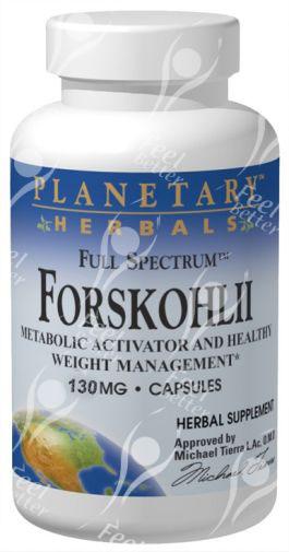 Full Spectrum Coleus Forskohlii / Forskolin 130mg x60tabs - GLAUCOMA / PSORIASIS