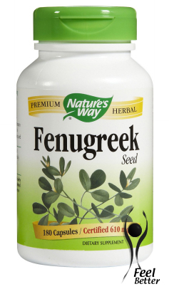 Fenugreek Seed 610mg x180caps - BREAST MILK PRODUCTION!
