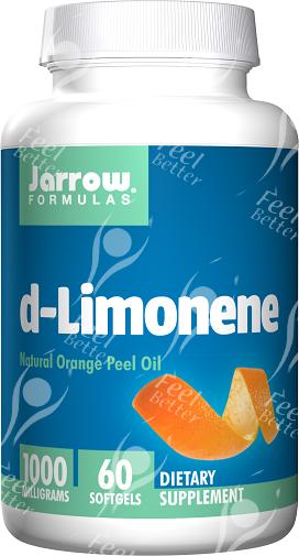 Limonene in orange peel