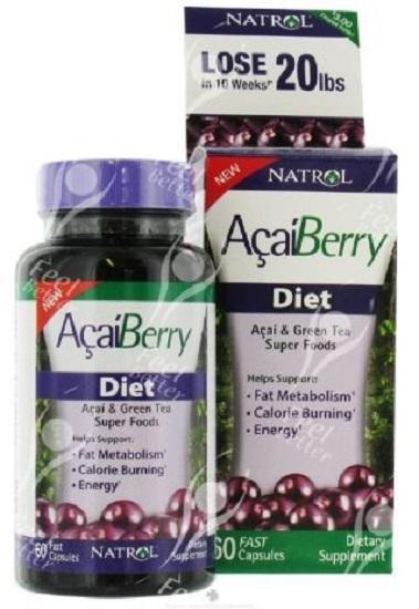 Acai Diet Weight Loss Formula with Chromium Picolinate Kola Nut Extract X30 eBay