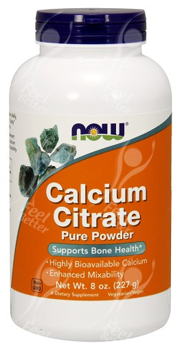 Now Foods Calcium Citrate Powder Reviews