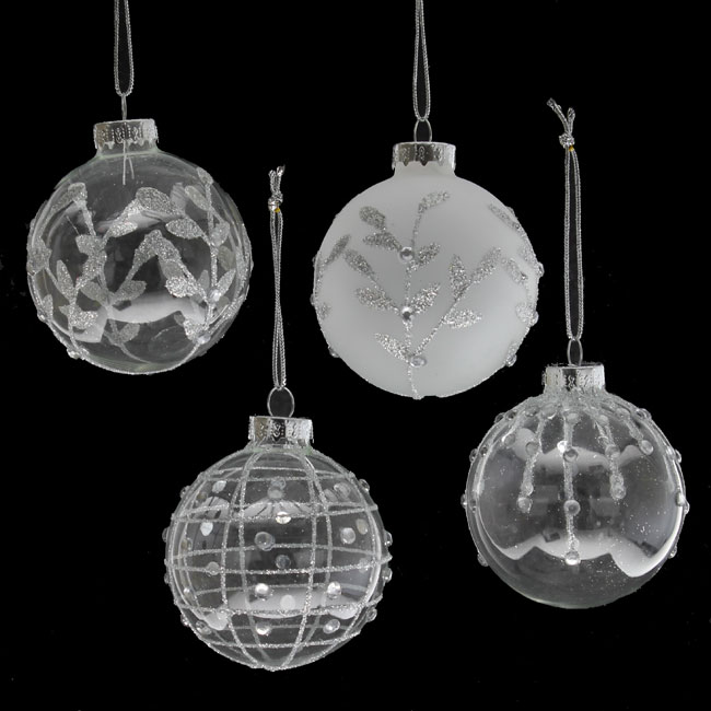 Glass Christmas Baubles Christmas Tree Ornaments Mince