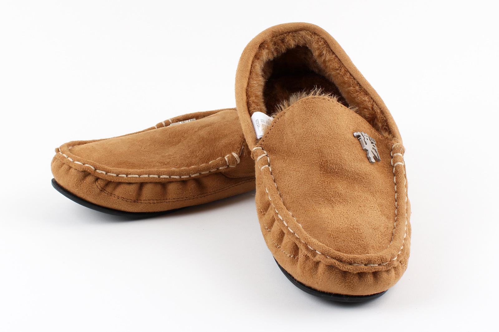 Mens House Shoes Moccasins