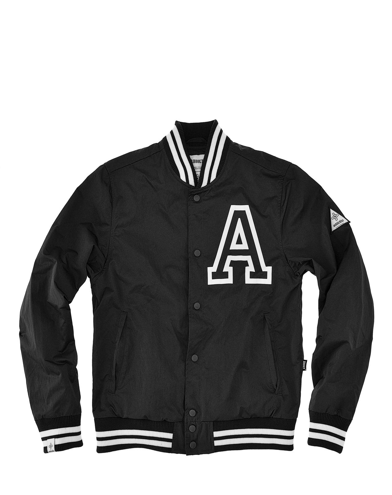 Addict Mens College Style Bomber Varsity Tour Jacket | eBay