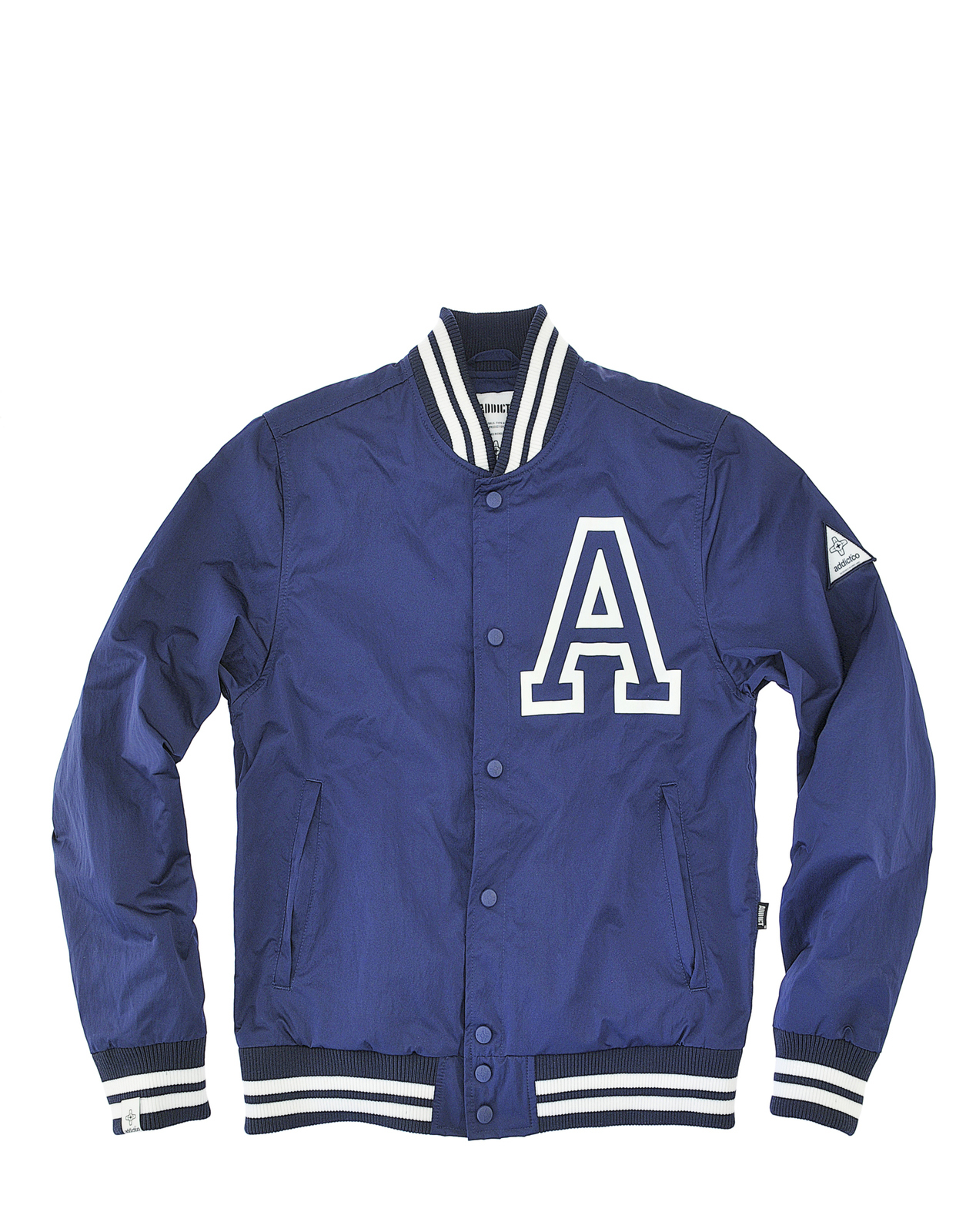 Addict Mens College Style Bomber Varsity Tour Jacket Ebay
