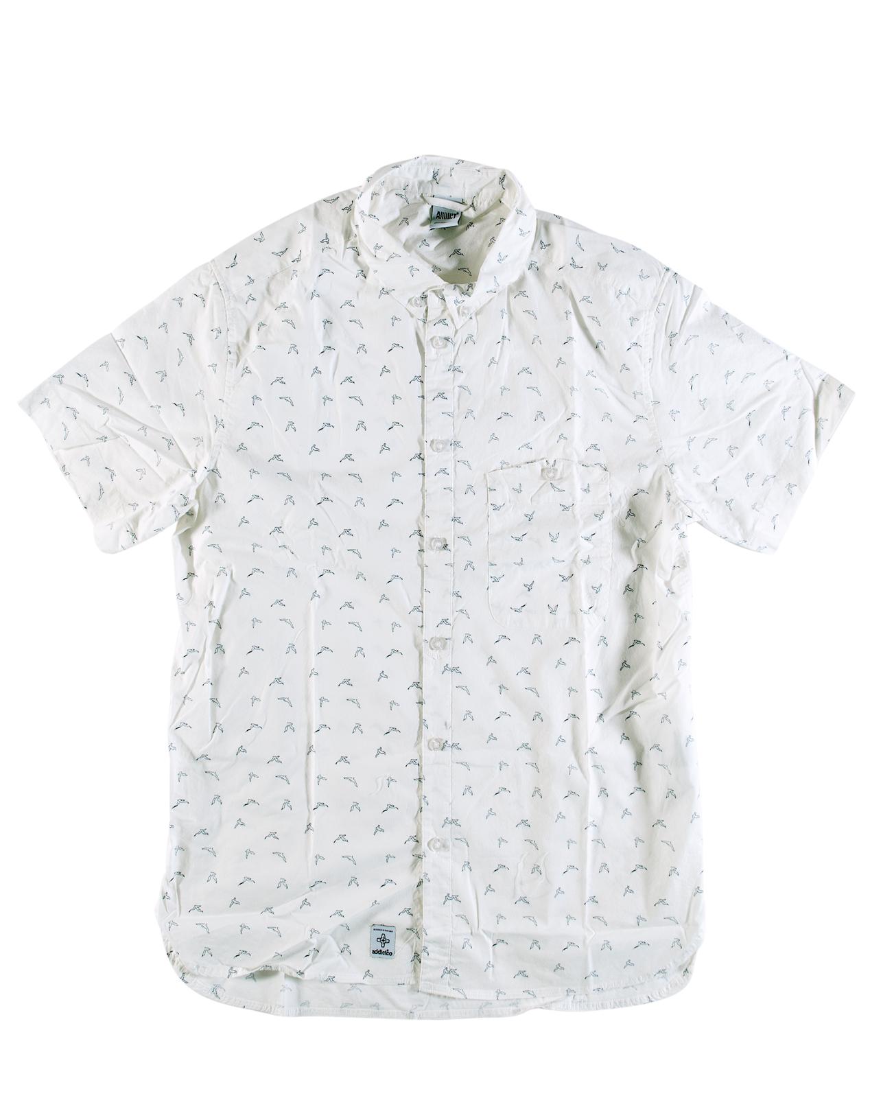 Addict mens seagull bd short sleeve button down 100 for Best short sleeve button down shirts reddit