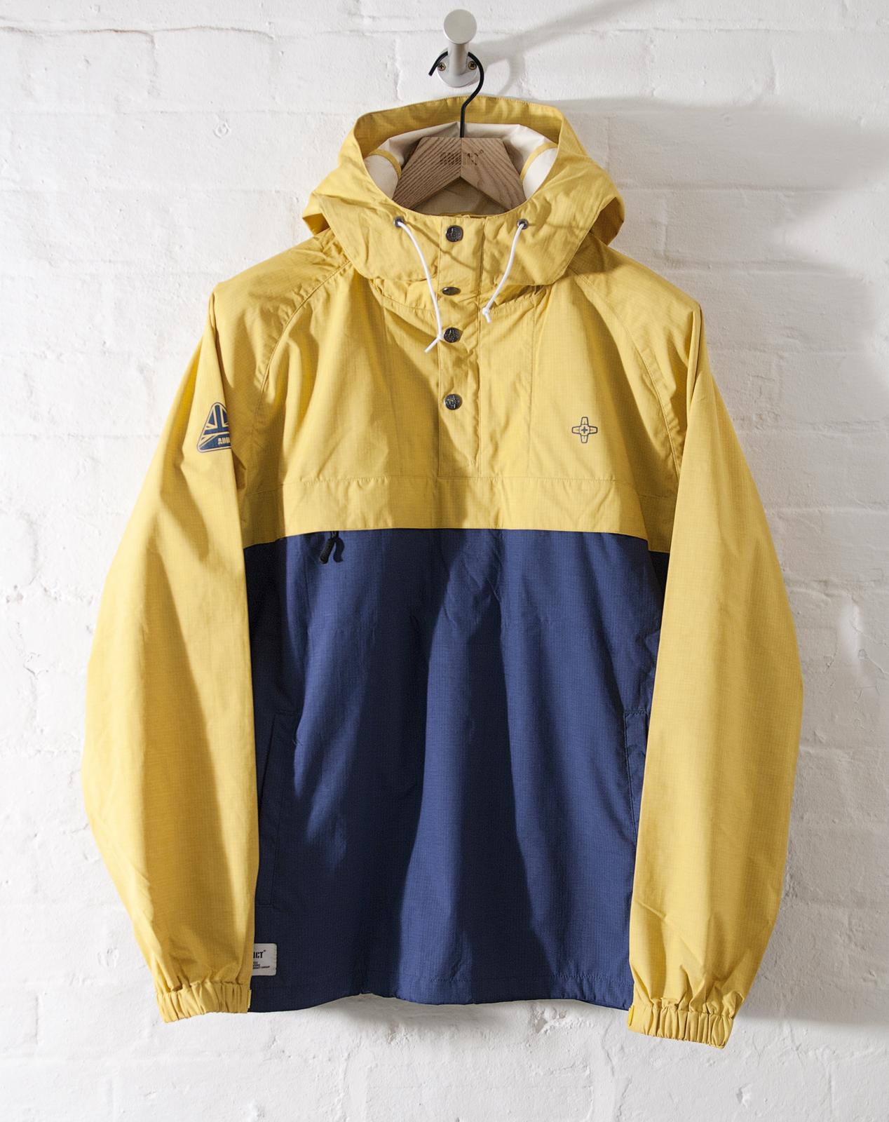 Mens jacket half - Addict Mens Pennine Smock Half Zip Water Resistant