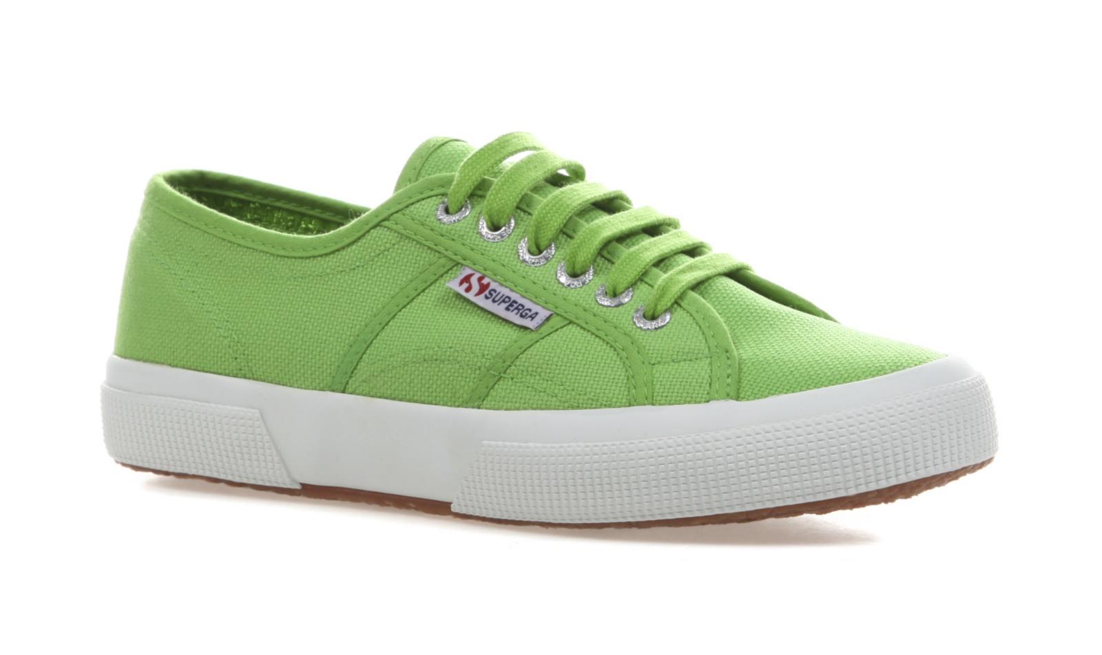 Superga Unisex 2750 Cotu Classic-Green Canvas Trainers Tennis ...