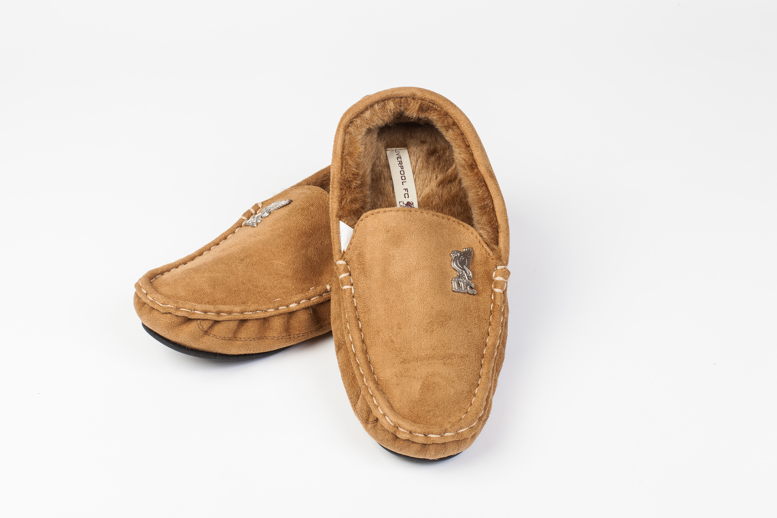 liverpool mens moccasin home casual winter suede slippers. Black Bedroom Furniture Sets. Home Design Ideas