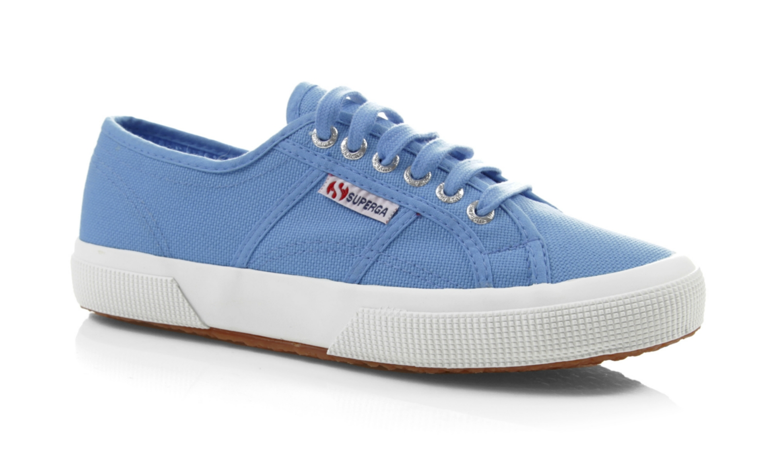 superga unisex 2750 cotu classic blue canvas trainers