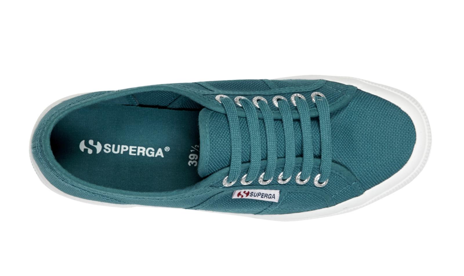 Superga Unisex 2750 Cotu Classic-Blue Canvas Trainers ...