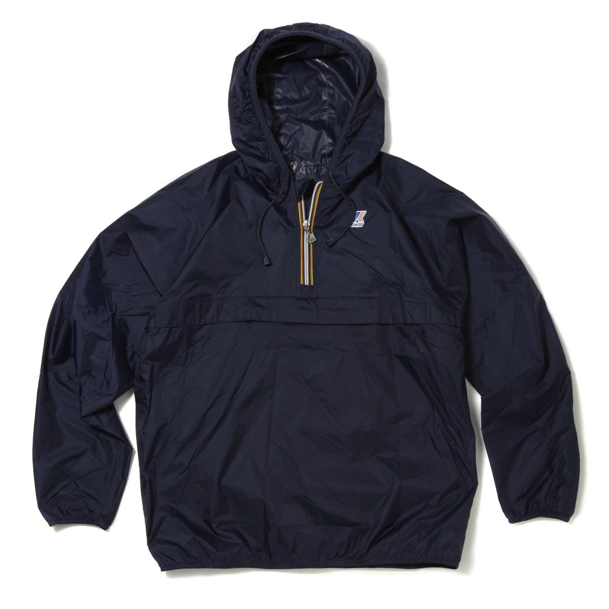 k way unisex leon classic half zip waterproof hooded. Black Bedroom Furniture Sets. Home Design Ideas