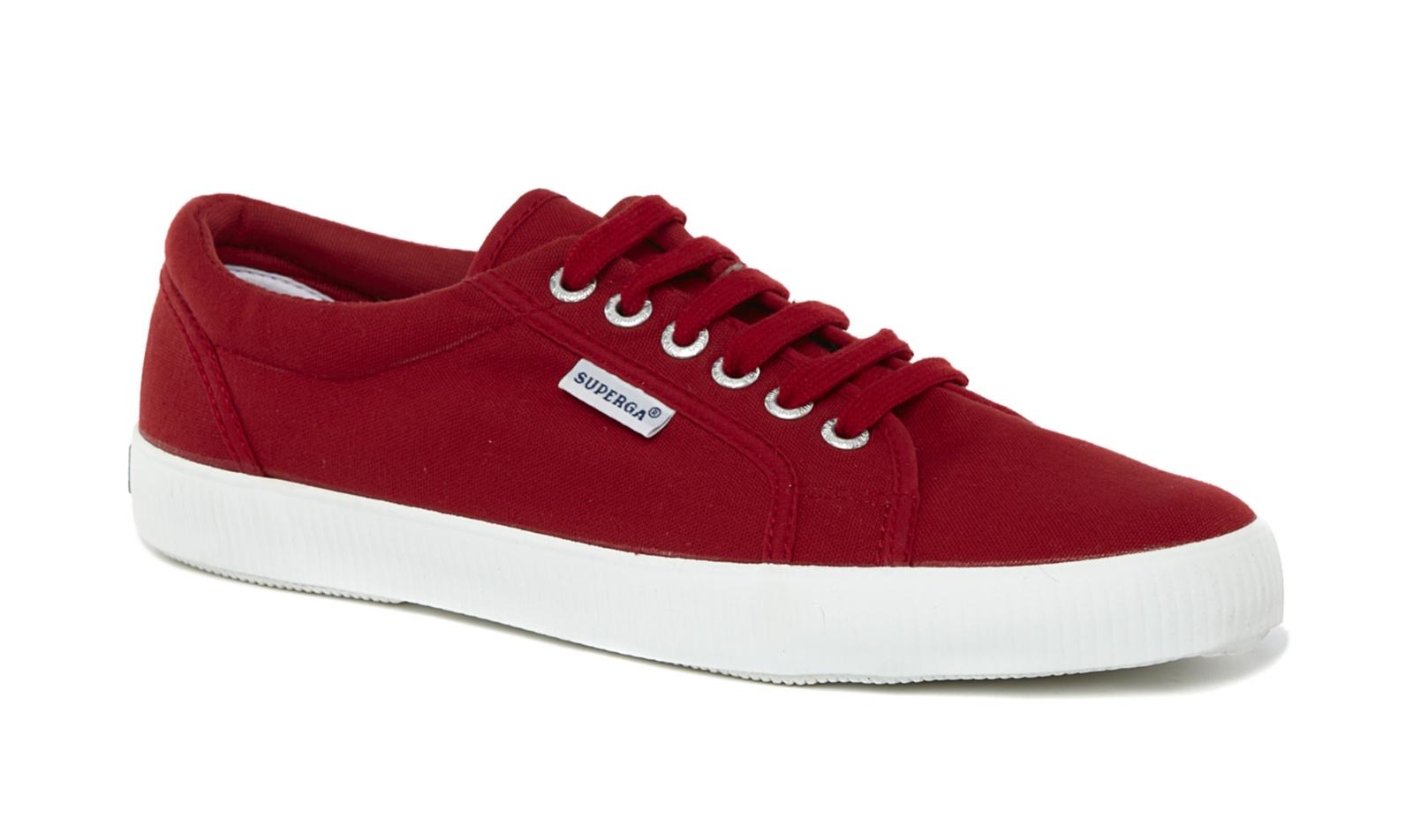 VH Superga Unisex 1705 Cotu Lace Up Canvas Trainers Tennis Shoes ...