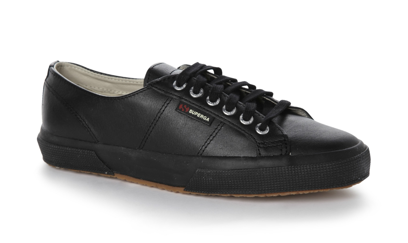 Superga Unisex 2750-Fglu Lace Up Leather Trainers Tennis Shoes ...