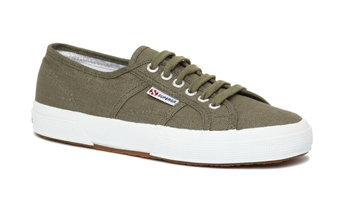 Superga-Unisex-2750-Linu-Lace-Up-Linen-Canvas-Trainers-Plimsolls-Rubber-Sole-New
