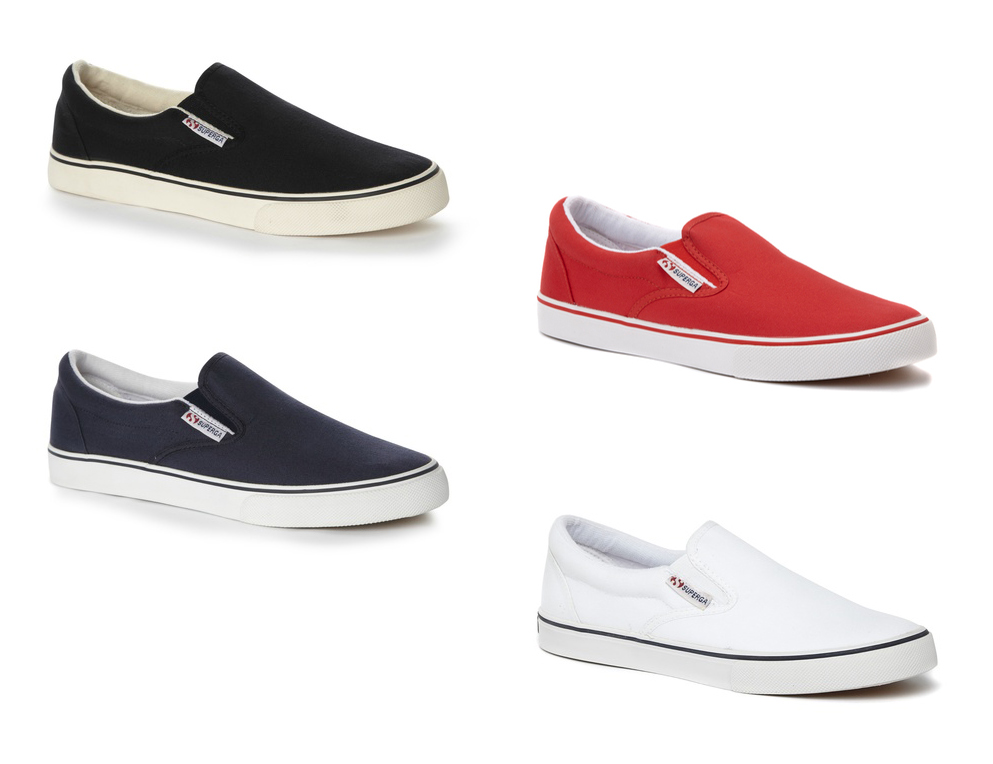 free shipping pay with visa sale pictures Superga Canvas Slip-On Sneakers buy cheap wide range of f95CfIDwzg