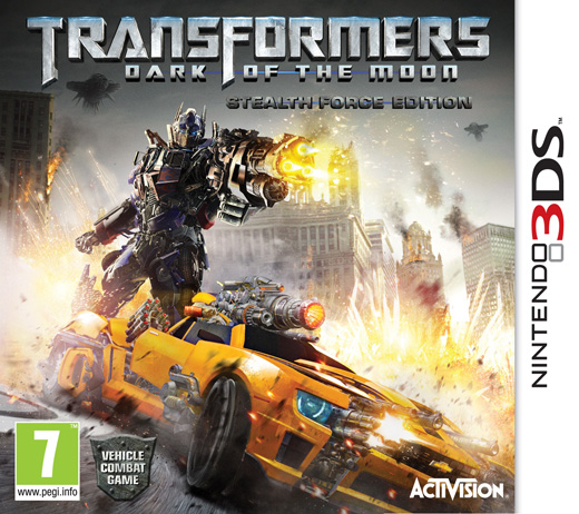 Activision Nintendo 3DS Transformers Dark Of The Moon  Video Game Brand New