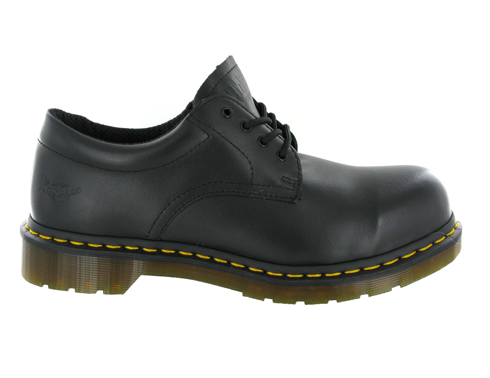 Mens-Dr-Martens-Steel-Toe-Cap-saftey-Black-4-Eye-Leather-Formal-Shoes-Size-6-13