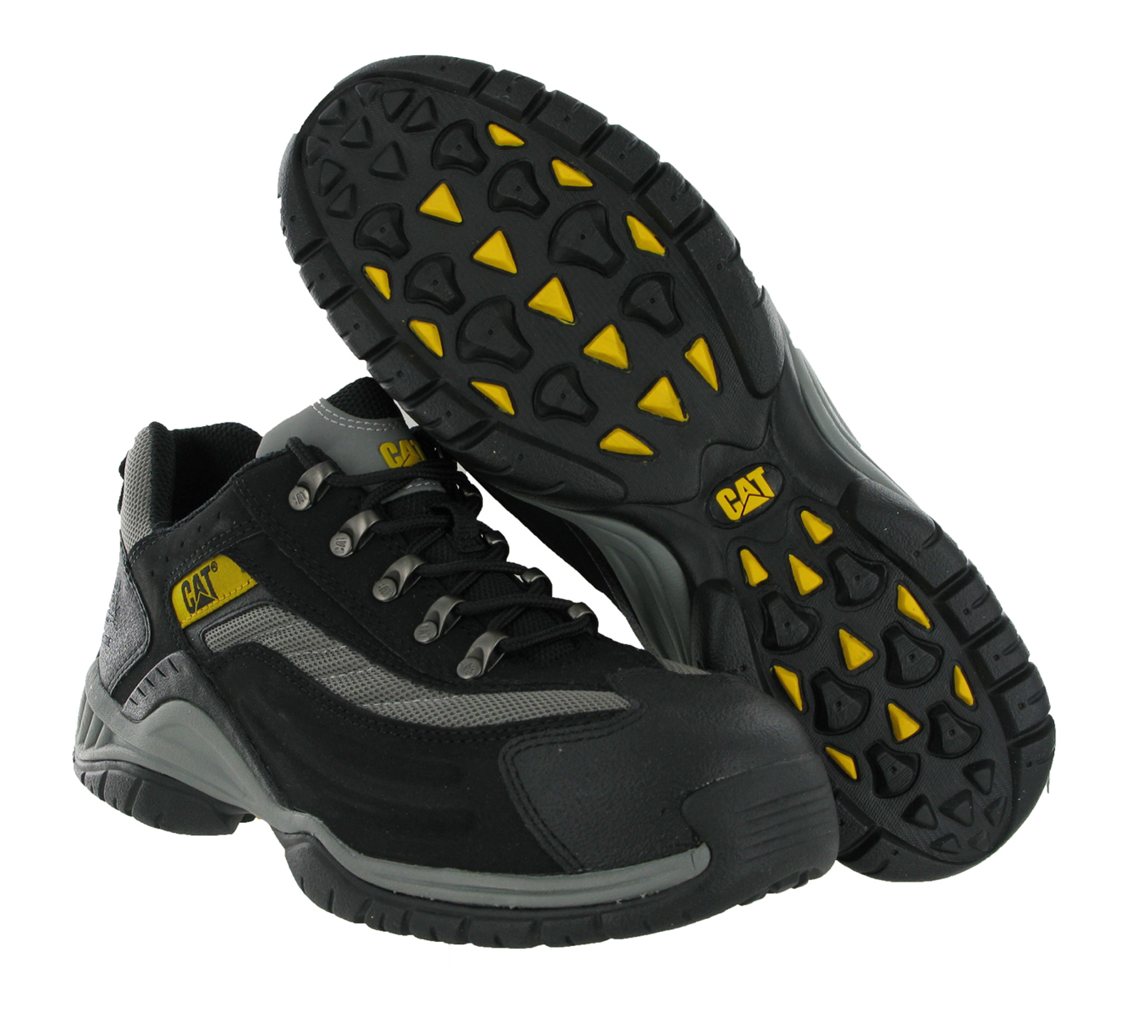 Mens Steel Toe Cap Boots Safety Work Shoes Size 6.5/40 on PopScreen