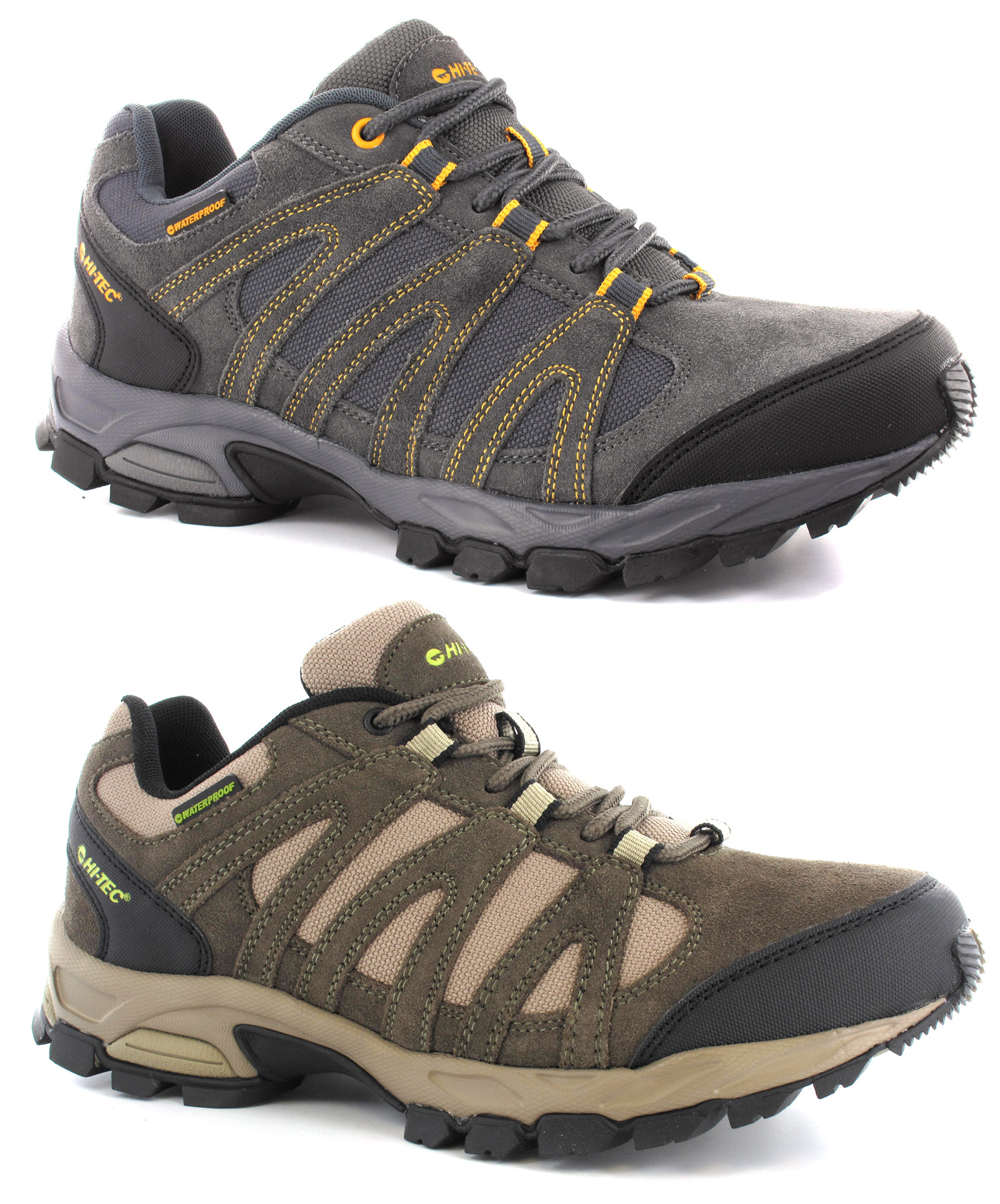 Hi-tec-Alto-Low-Waterproof-Lightweight-Hiking-Shoes-Trainers-Size-7-13