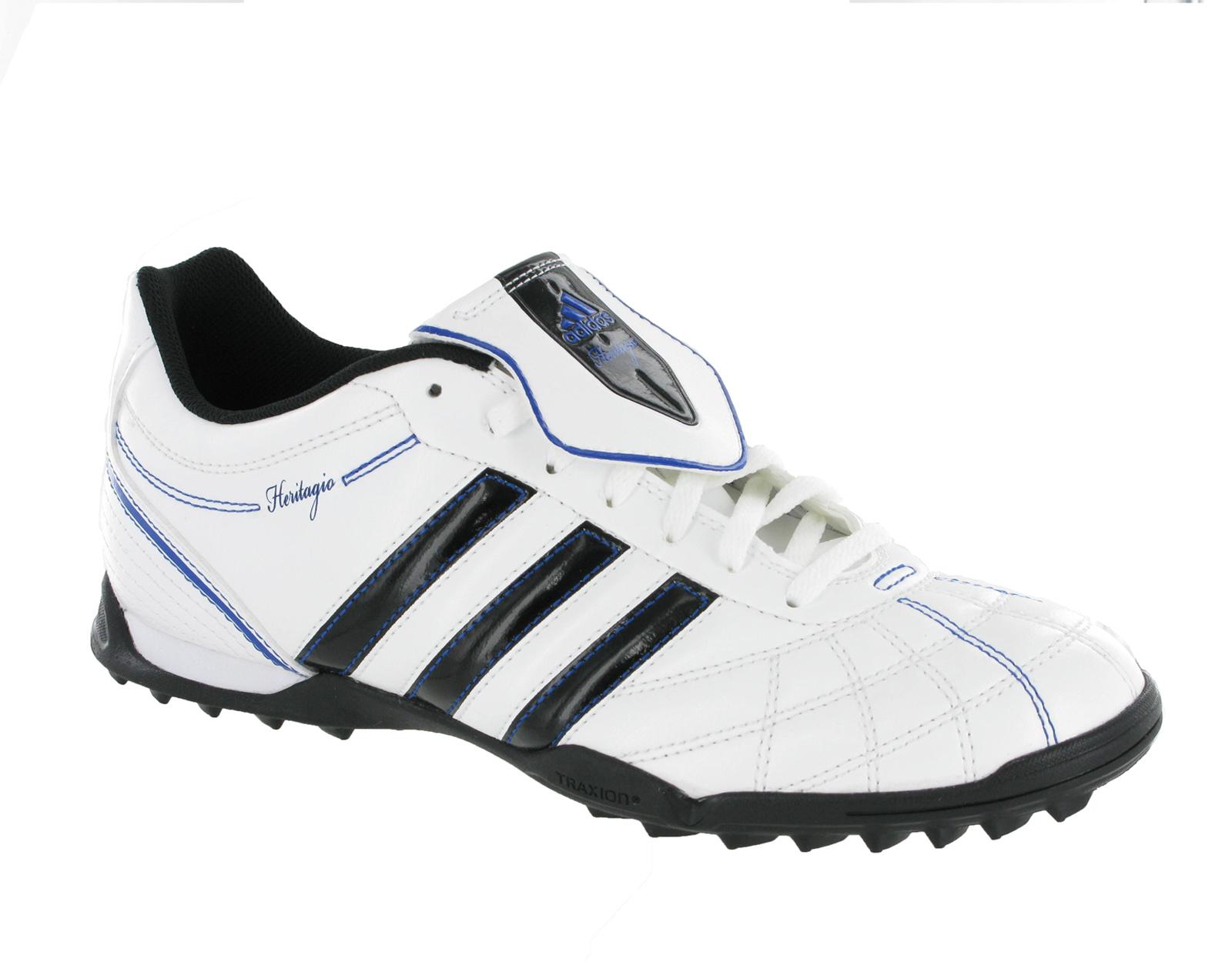 new mens adidas heritagio v trx tf white astro turf football boots size 6 12 uk ebay