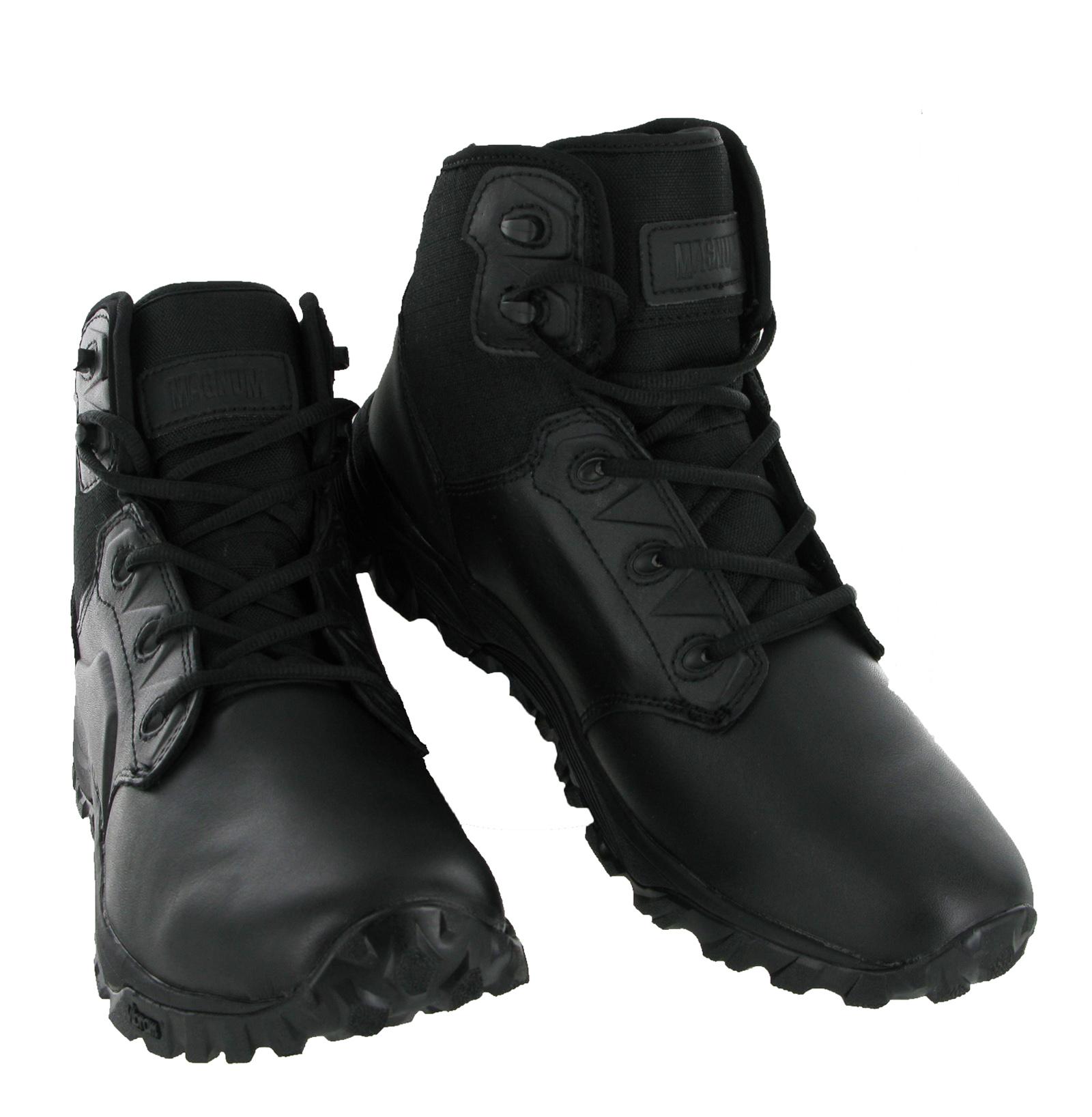 New Mens Magnum MACH 2 5.0 Black Lightweight Combat Police ...