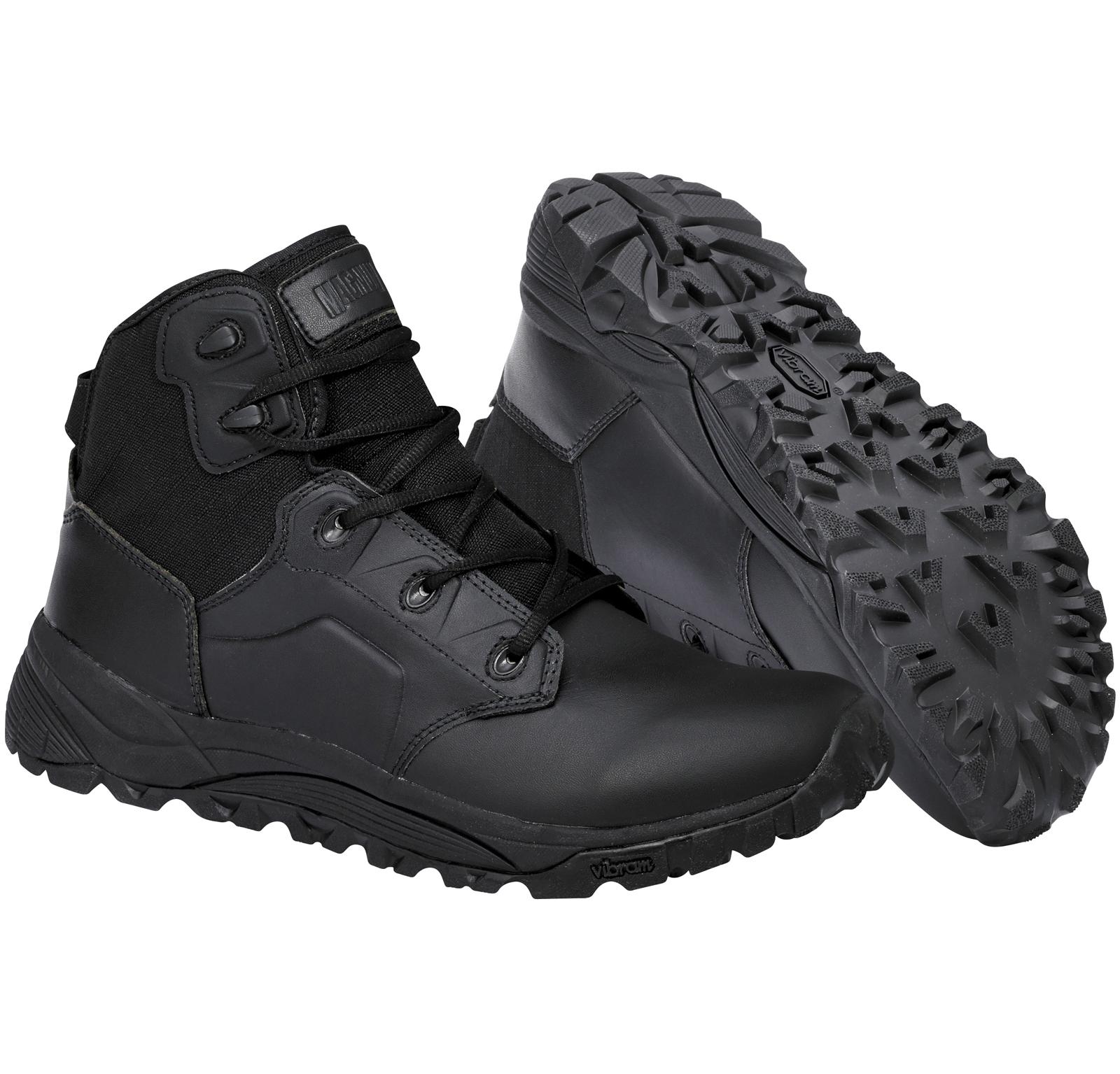 New Mens Magnum MACH 2 5.0 Black Lightweight Combat Police Ankle Boots Size 6-14 | EBay