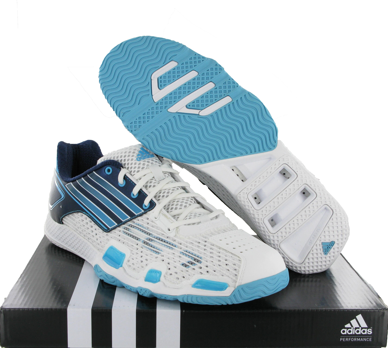 New-Mens-Adidas-Adizero-HB-CC7-White-Running-Sport-Shoes-Trainers-Size-6-12-UK