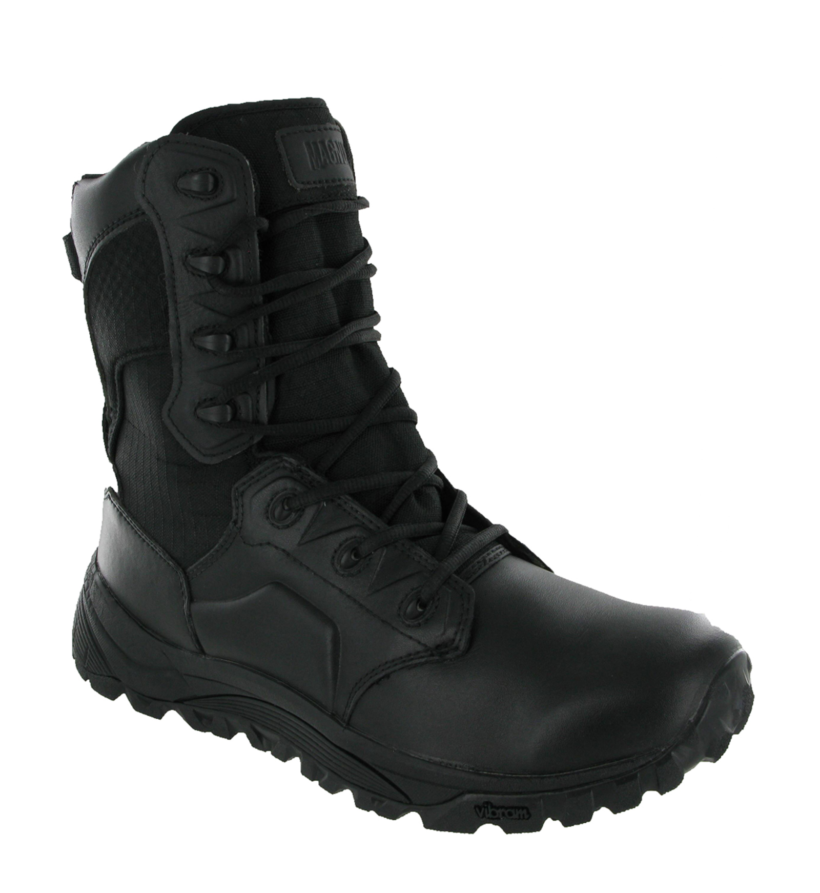New Mens Magnum MACH 2 8.0 Black Lightweight Combat Police Ankle