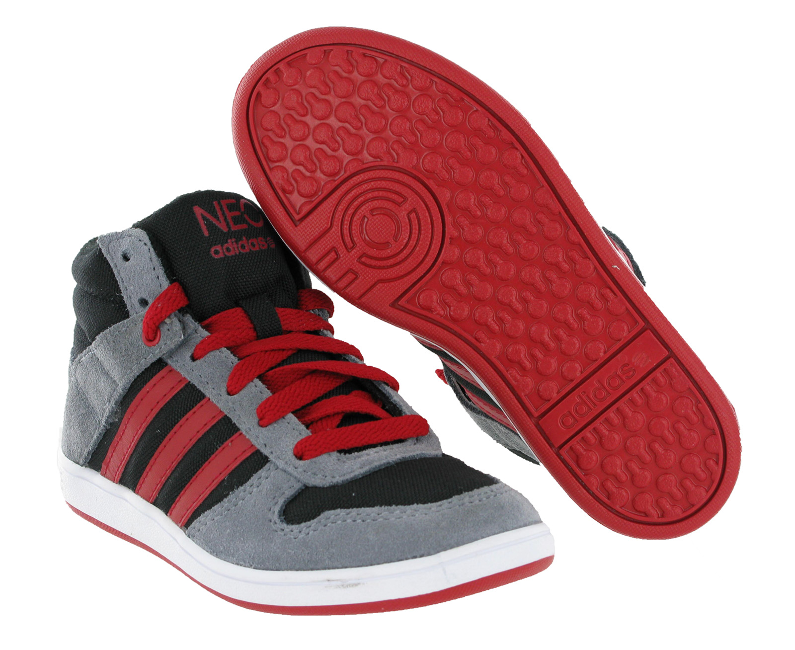 boys adidas high top trainers