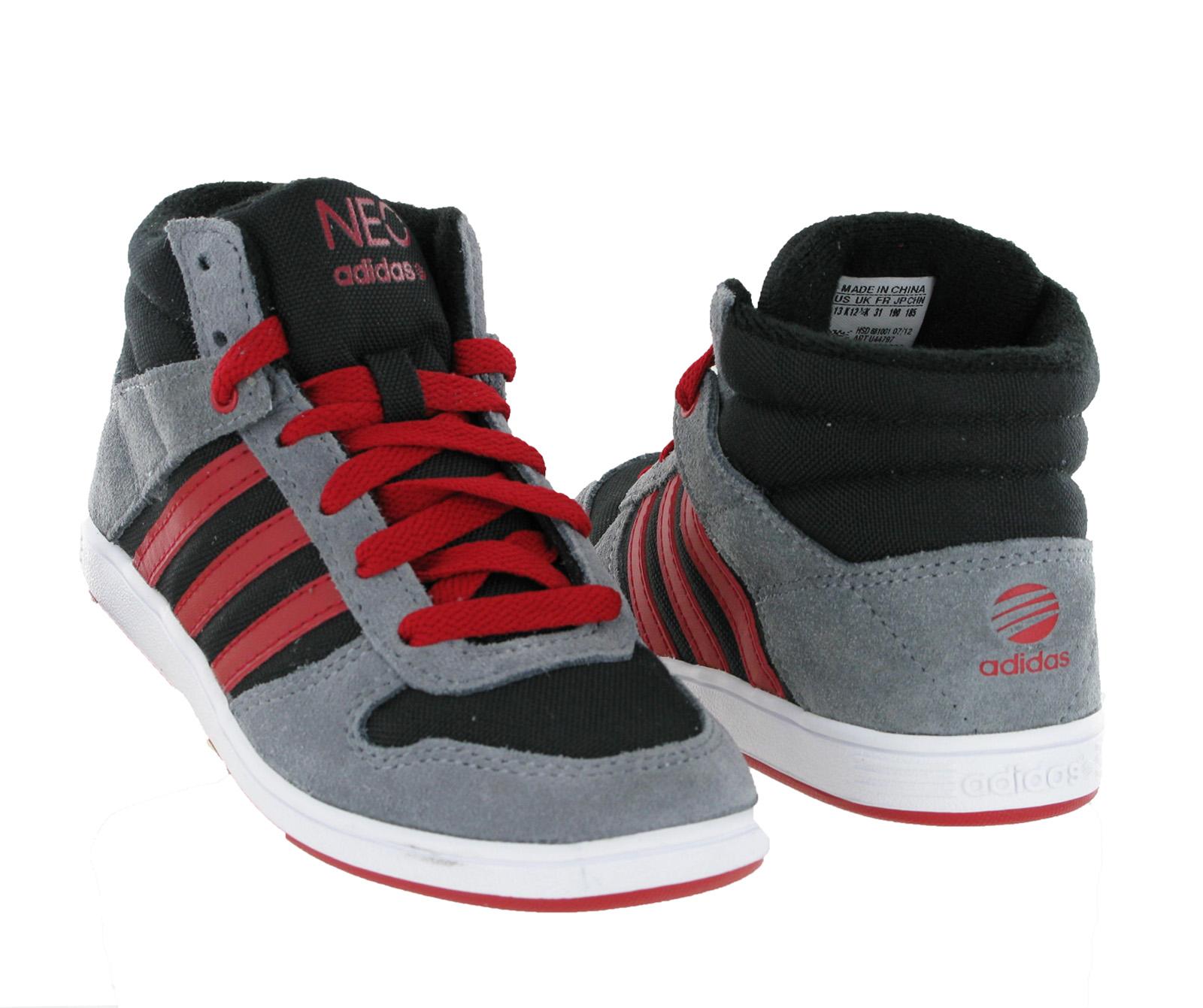 adidas boys high tops