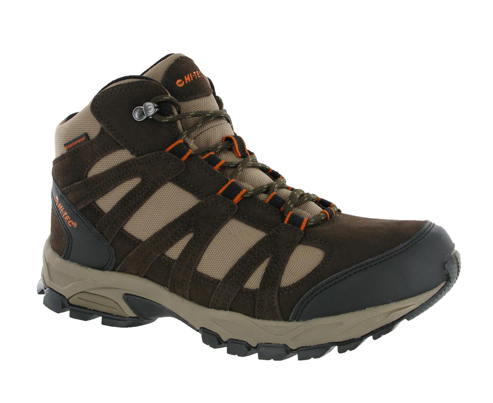 mens hi tec alto mid waterproof lightweight hiking walking