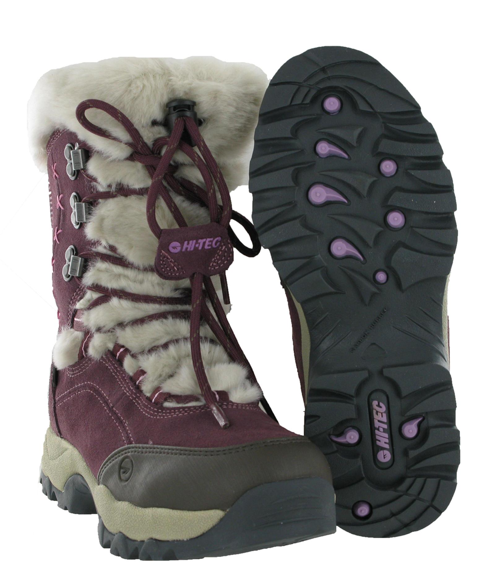 new womens hi tec st moritz waterproof thermal warm snow