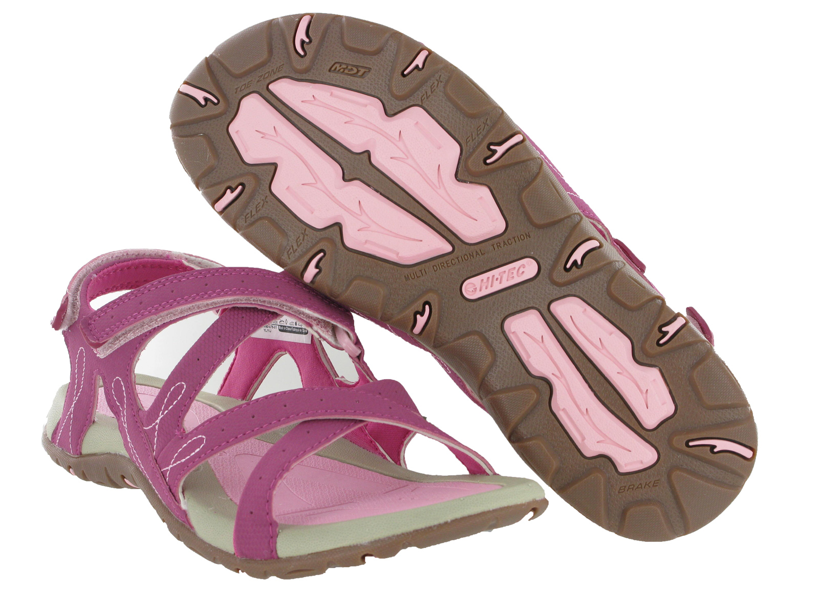 Fantastic Details About Womens Ladies Dunlop Velcro Sandals Summer Beach Walking