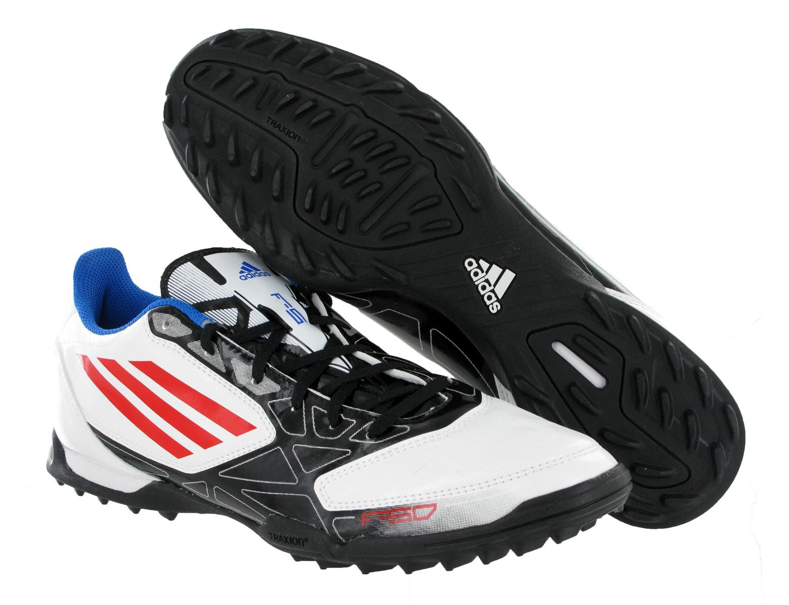 new mens adidas f5 trx tf white black astro turf football boots size 6 12 uk ebay
