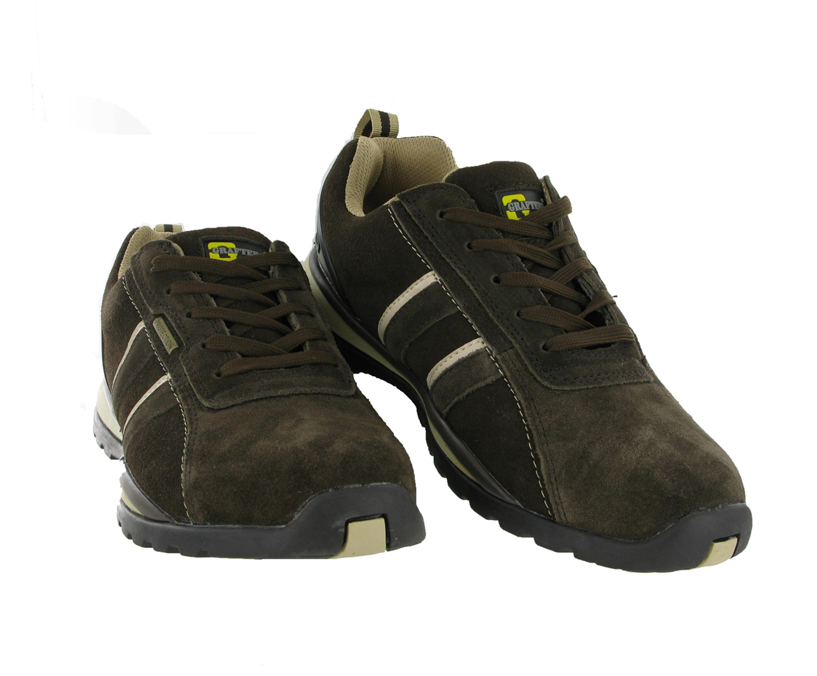 Grafters Mens Trainers Lightweight Steel Toe Cap Safety Work Shoes ...