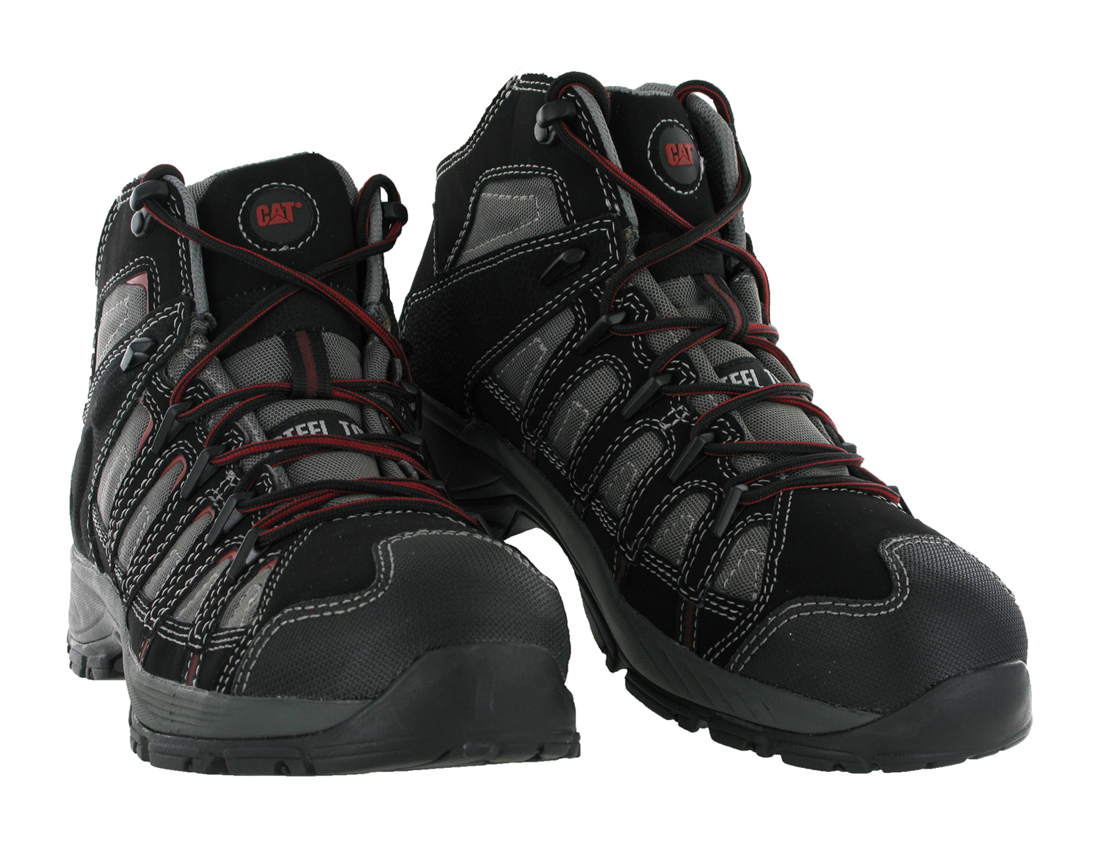 CAT Caterpillar Dashboard Steel Toe Cap Safety Work Mens Ankle Boots Size 6-12 | EBay