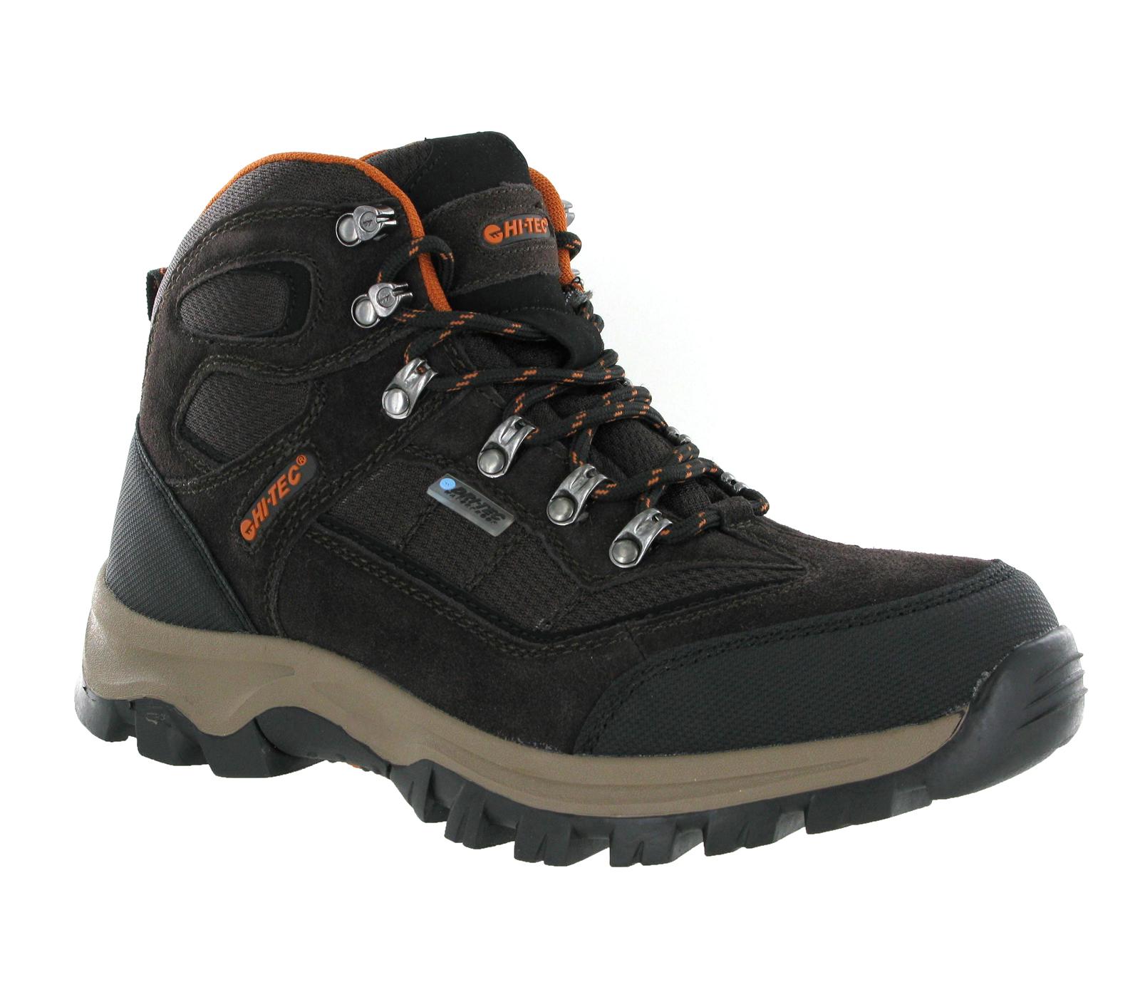 new mens hi tec hillside waterproof walking hiking trail
