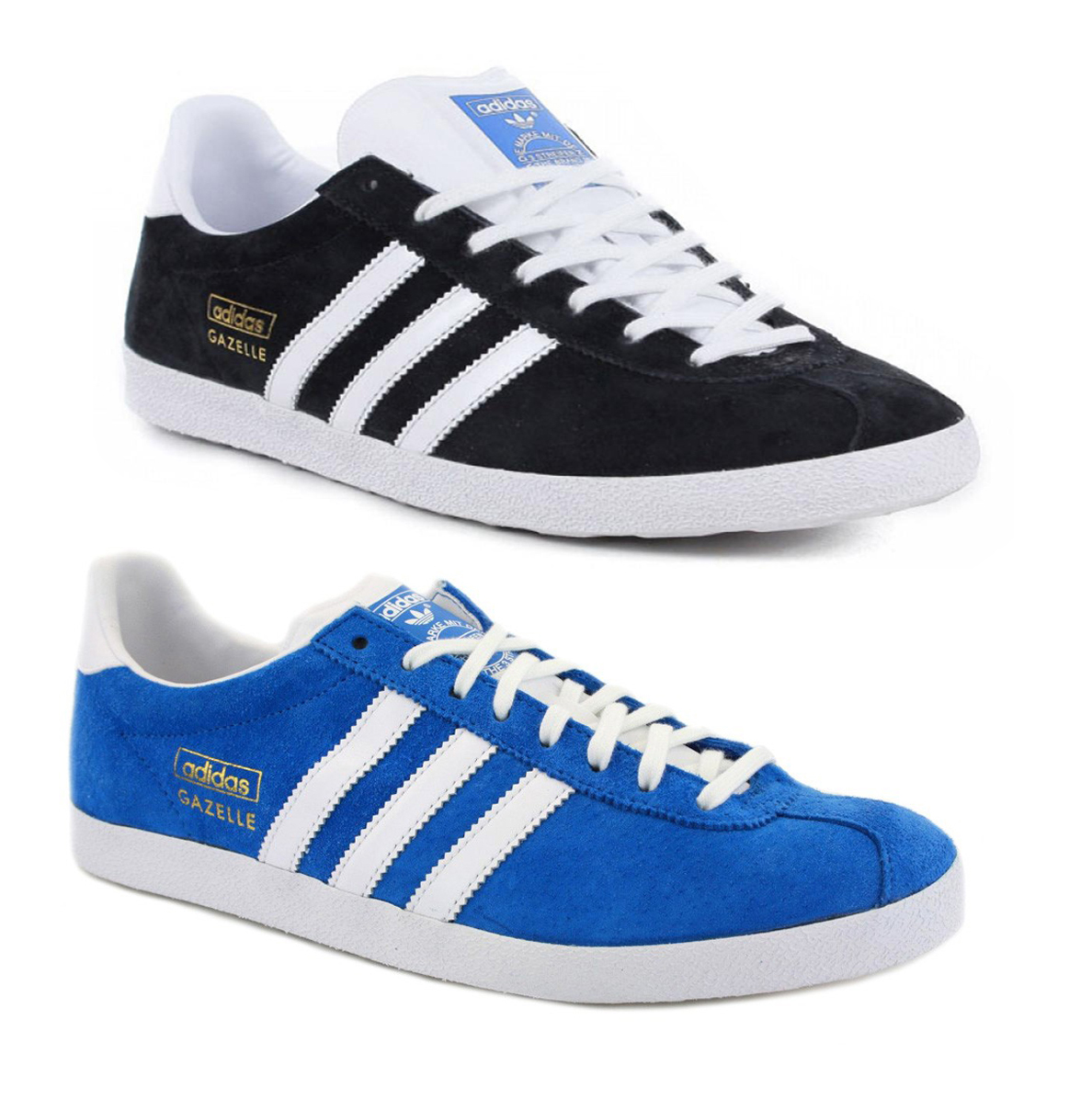 New Mens Adidas Gazelle Original Classic Suede Sports Shoes Trainers Size 7-12