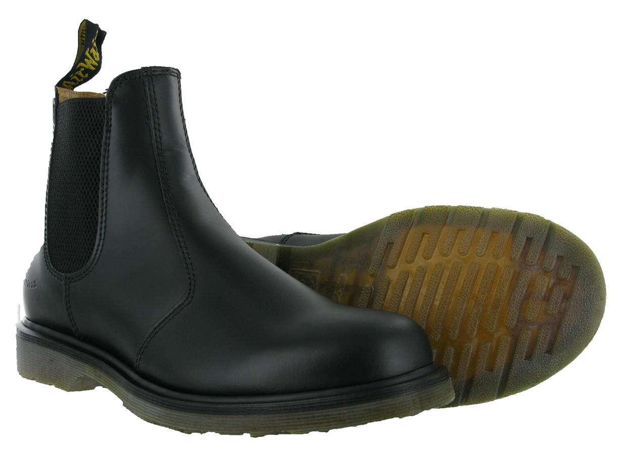 new mens leather dm dr doc martens 2976 pull on chelsea. Black Bedroom Furniture Sets. Home Design Ideas