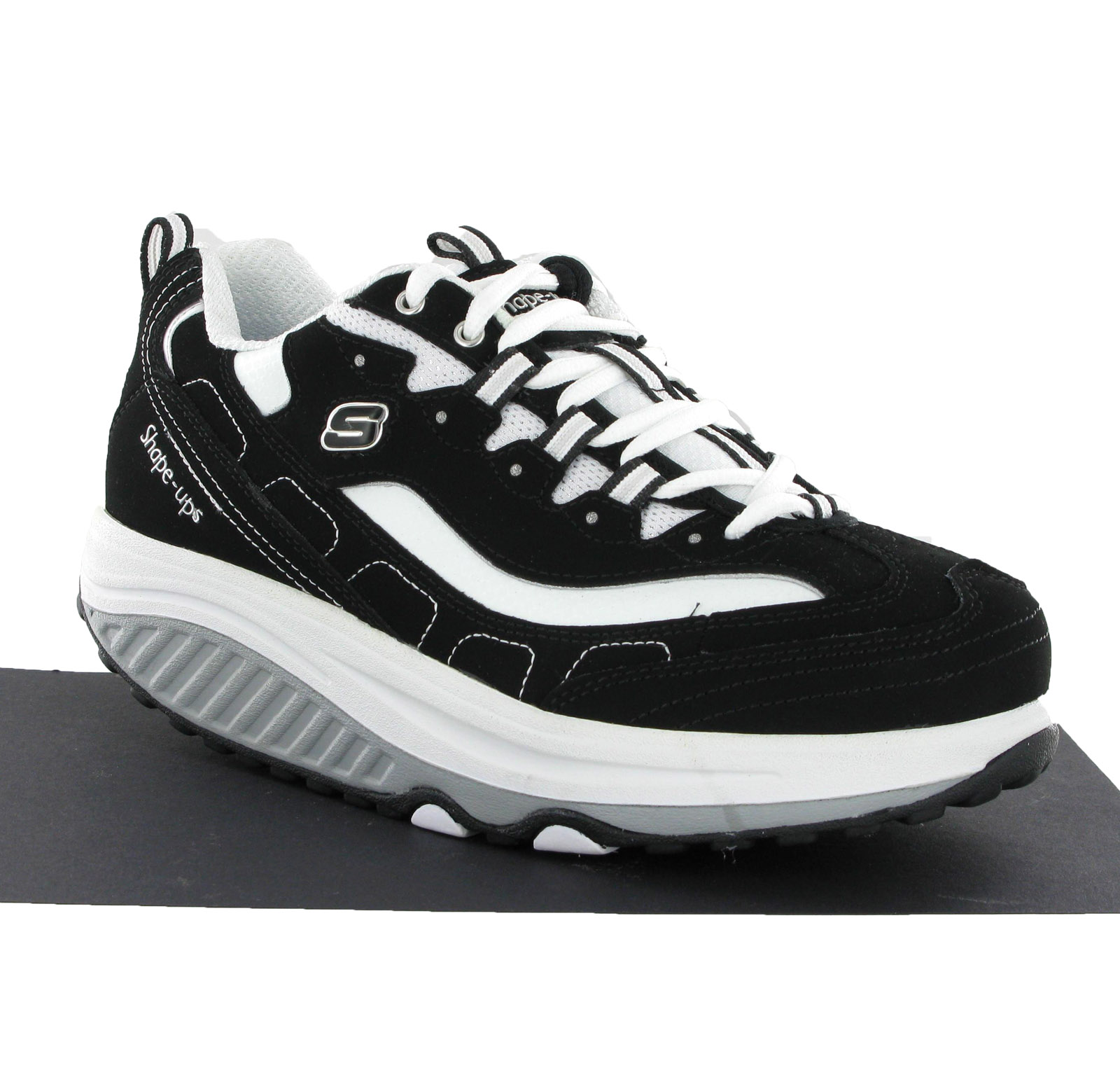 New Womens Skechers Fitness Toning Shape Up Sports Trainers Shoes