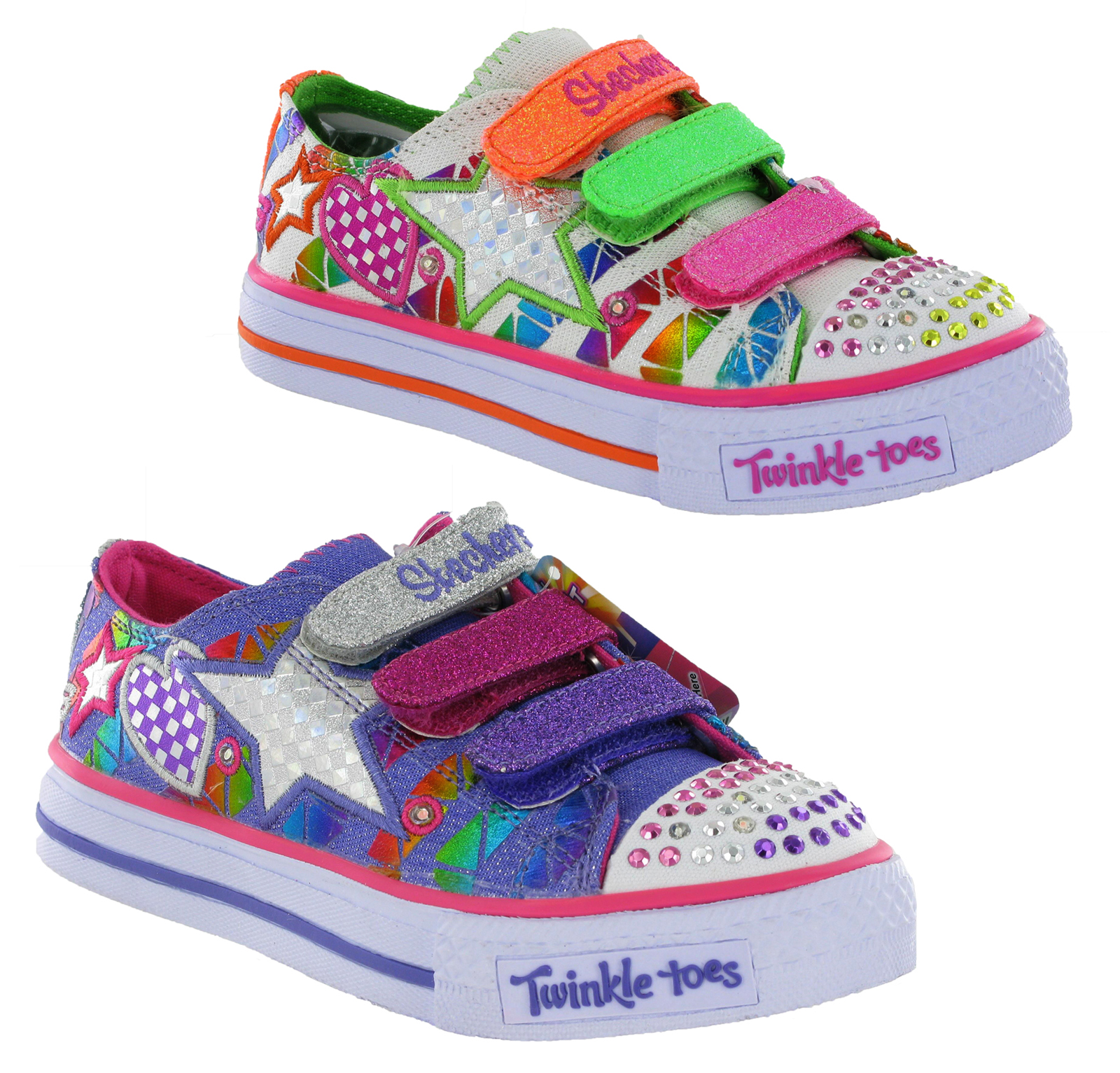 new girls kids infants skechers twinkle toes light up. Black Bedroom Furniture Sets. Home Design Ideas