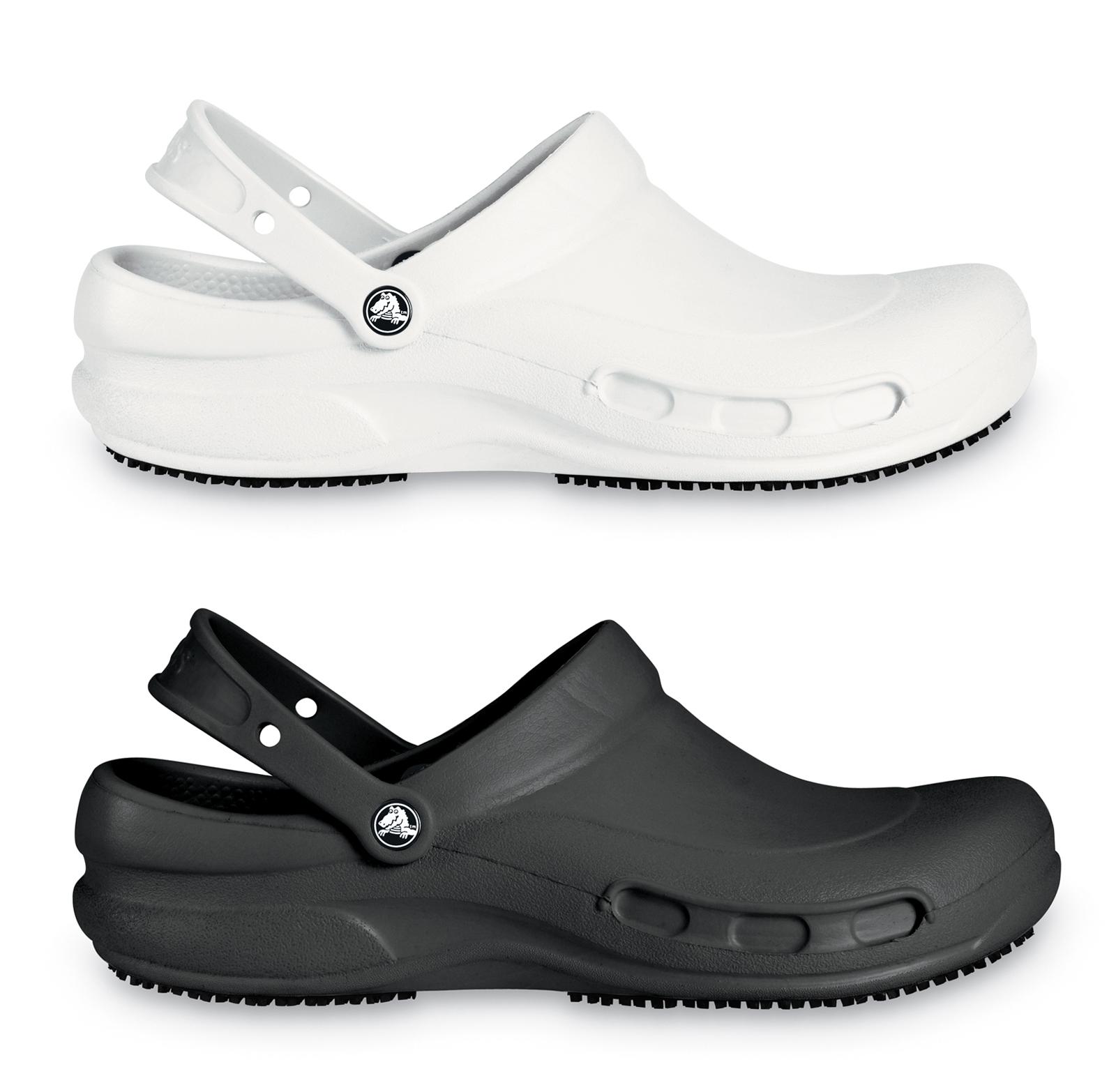 crocs bistro comfort clogs work slip resistant genuine