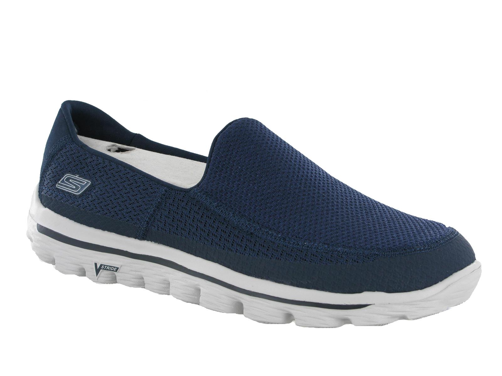 Skechers Go Walk Mens Canvas Shoes