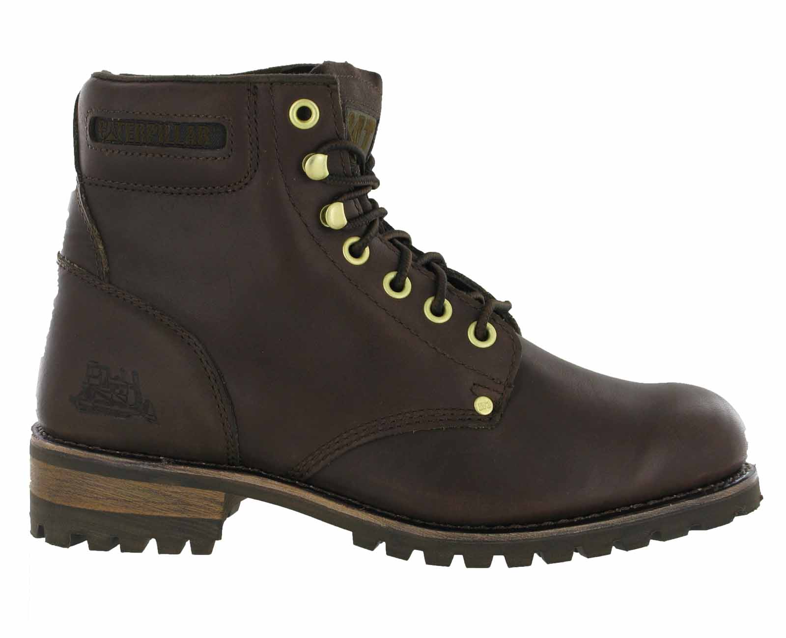 mens cat caterpillar sequoia non safety leather fashion