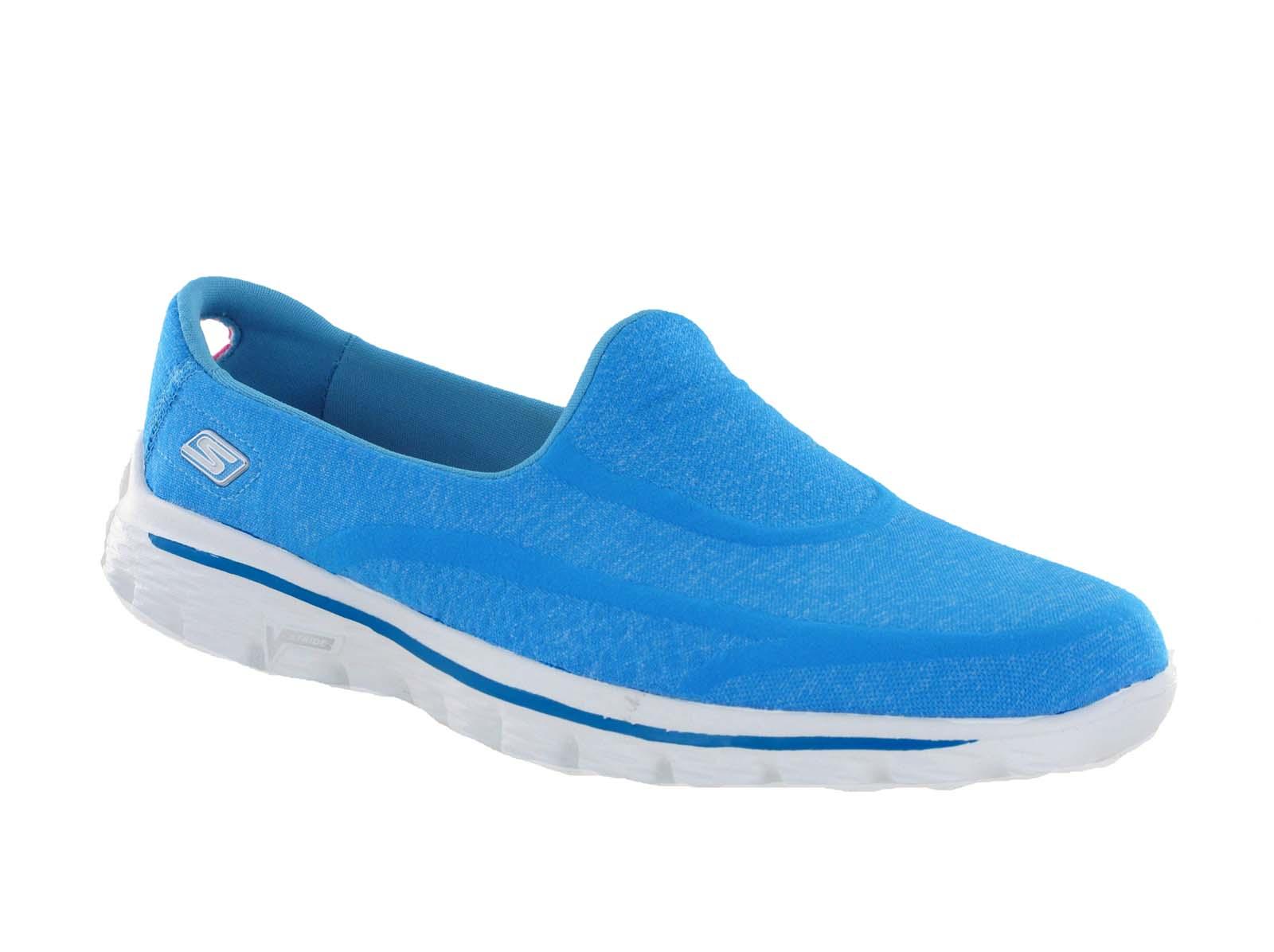 New-Womens-Skechers-Go-Walk-2-Super-Sock-