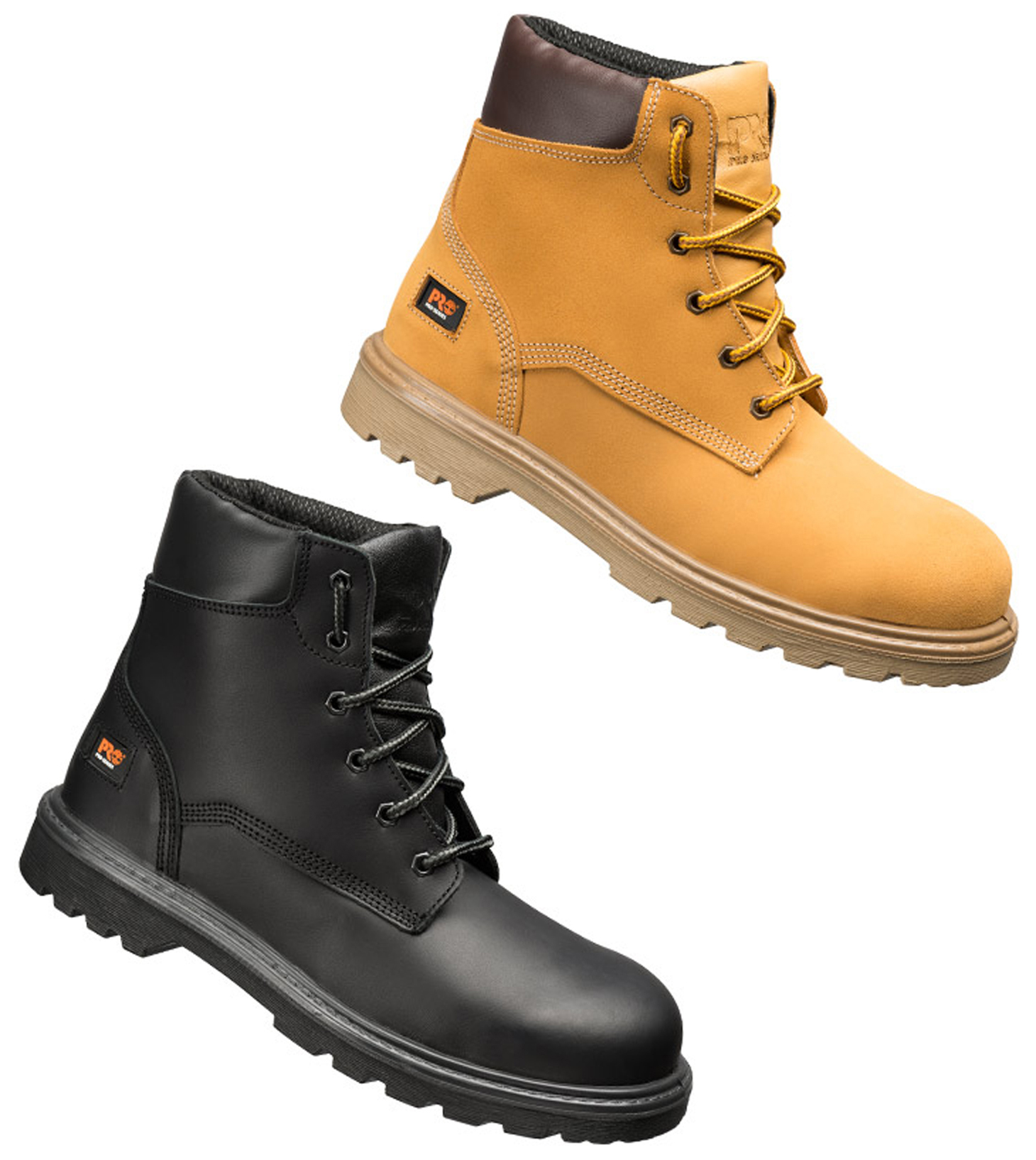 Timberland Pro Hero S3 Composite Leather Safety Steel Toe ...