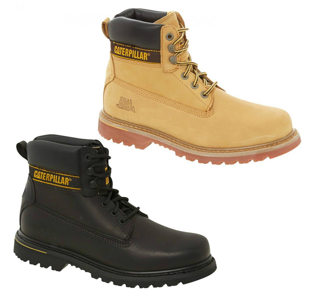 Kids' Cat Caterpillar Colorado Plus P boys grey nubuck boots booties shoes.