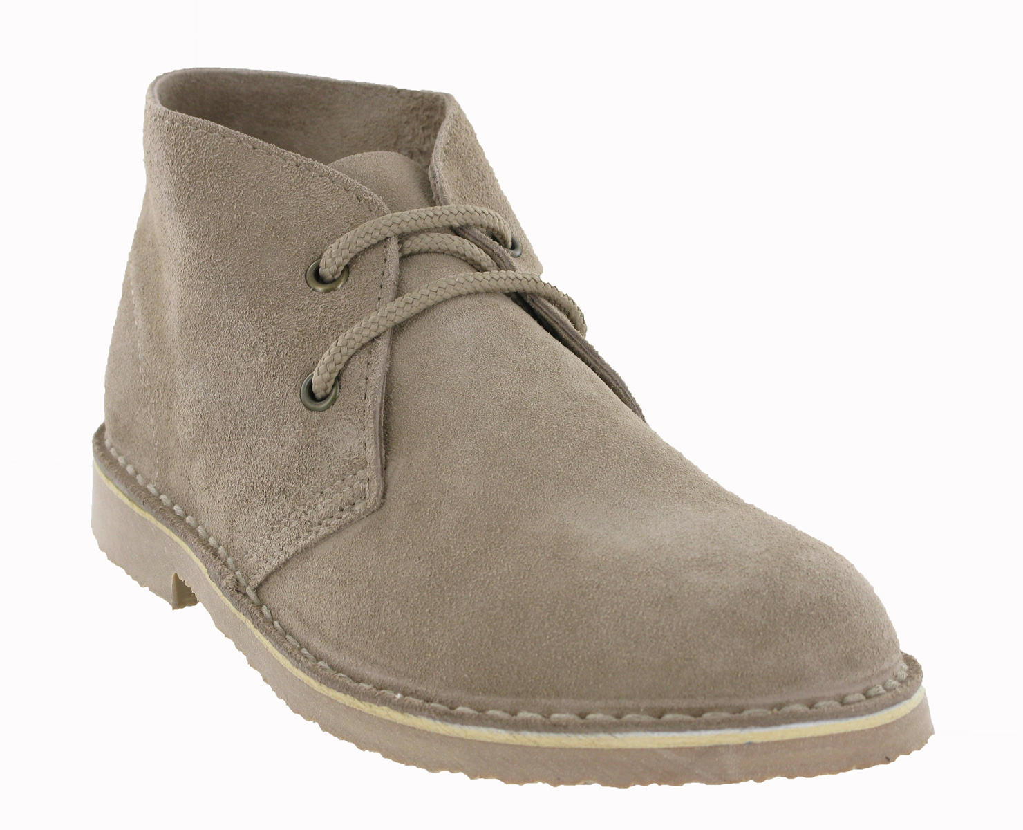 roamers classic suede desert boots real leather womens
