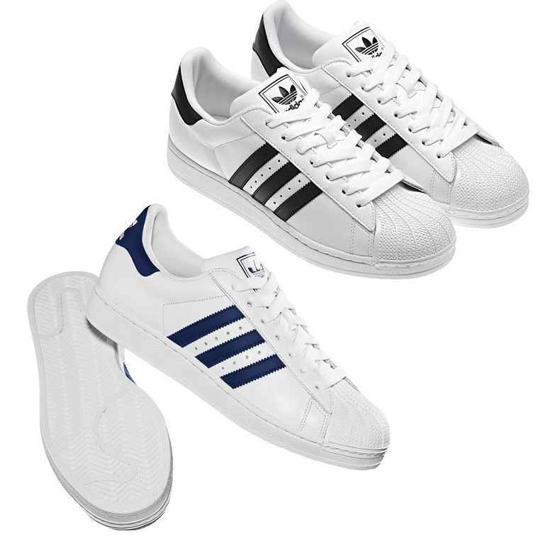 Brand Leather Shoes Sneakers Adidas Superstar UP 2strap M19513